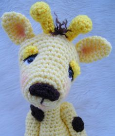 Giraffe Crochet Pattern by Teri Crews