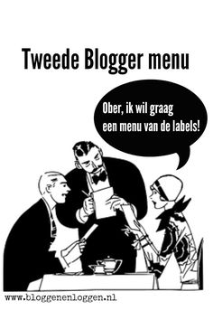 Blogger menu met labels maken.