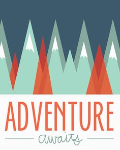 Woodland Mountain Man Adventure Awaits by JustIzzyDesign on Etsy, $5.00