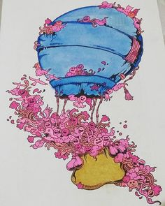 My 2nd from doodle invasion #doodleinvasioncoloringbook #doodleinvasionph  #doodleinvasion #zifflindoodle  #zifflin  #coloringbook  #coloraddict  #adultcoloring