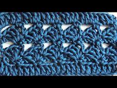 Узор крючком. Простой и красивый.№1 crochet Pattern - YouTube