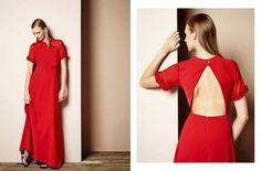 Be the much-needed pop of colour in your weekend plans in this KNOCKOUT #red maxi dress from @WeareMonochrome! Dress this lethal number up or down, with heels, flats, boots, you name it. #wecreateharmony #monochrome  Shop the dress here: http://www.wecreateharmony.com/designers/m-r/monochrome/maxi-dress-with-open-back-red.html