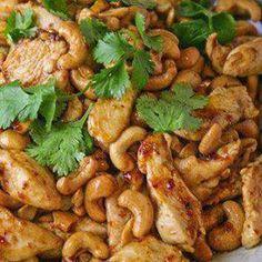 Crock Pot Cashew Chicken With Chicken, All-purpose Flour, Black Pepper, Canola…