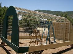 Inexpensive animal shelter - this one used for pigs.