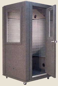 Sound proof booth from whisperroom.com