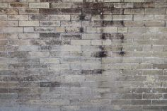 High resolution grunge gray brick wall texture for us in CG and graphic design in Photoshop, Maya, Cinema and Zbrush. Brick Texture, Grey Brick, Exposed Brick, Photo Backgrounds, Cool Wallpaper, Brick Wall, Textured Walls, Grunge, Wall Art