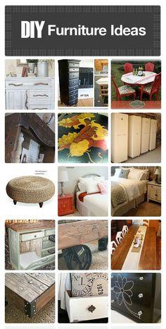 DIY Home Furniture Ideas - http://comfyhomeideaz.com/diy-home-furniture-ideas/