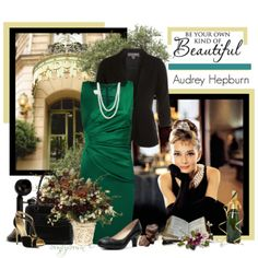 """""""Audrey Hepburn"""" by countrycousin on Polyvore"""