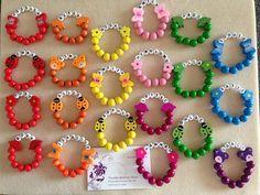Personalised Wood Children's Bracelet by TwinkleShimmerShop Childrens Jewellery, Kids Jewelry, Jewelry Shop, Jewelry Crafts, Jewelry Making, Kandi Bracelets, Beaded Bracelets, Tiaras, Beaded Earrings