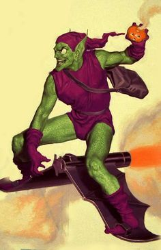 Green Goblin by Glen Orbik