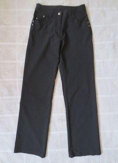 Kaufe meinen Artikel bei #Kleiderkreisel http://www.kleiderkreisel.de/damenmode/hosen-sonstiges/144919845-schwarze-stretch-hose-gerade-gr-38