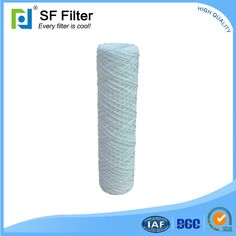 SFW thread winding filter cartridge water filtration system