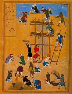 كما الدين بهزاد 2 الإبداع التصـويري في الفــن الإســلامي   صــور مُذهلة !