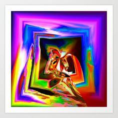 Confluence Art Print by David Gough - $15.00