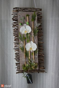 Fake Flowers, Artificial Flowers, Orchid Arrangements, Frame Crafts, Wooden Decor, Flower Crafts, Flower Wall, Diy Crafts To Sell, Flower Decorations