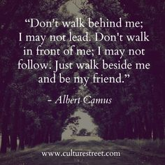 Culture Street | Quote of the Day by Albert Camus
