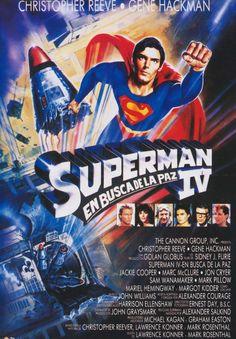 Superman IV: en busca de la paz (1987) EEUU. Dir: Sidney J. Furie. Acción. Aventuras. Ciencia ficción - DVD CINE 867-IX