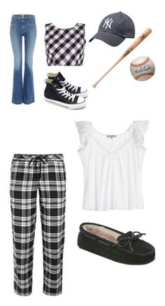 """""""Elizabeth Smith"""" by waffle-hp on Polyvore featuring Hudson Jeans, Converse, DKNY, Pour Les Femmes and Minnetonka"""