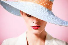 Fashion studio portrait - Buy this stock photo and explore similar images at Adobe Stock Fashion Business, Fashion Marketing, Studio Portraits, Fashion Studio, Panama Hat, Outfits, Stock Photos, Hats, How To Wear