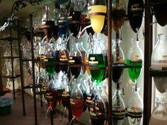 Schnapps distillery in Innsbruck, Austria. The most amazing cafe liquors!