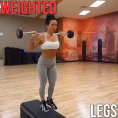 Weighted Legs!