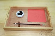 chinese new year calligraphy Montessori Education, Montessori Activities, Kids Education, Homeschool Curriculum, Chinese New Year Kids, Chinese New Year Crafts, Toddler Classroom, Art Classroom, New Year's Crafts