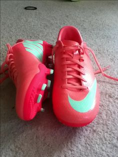 Nike Mercurial Victory- maybe? Love the color (: