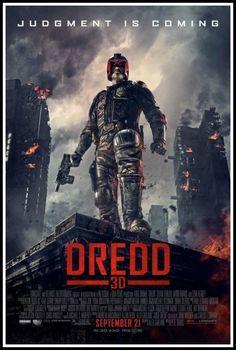 DREDD 3D Blu Ray Review - http://www.horror-movies.ca/2012/12/dredd-3d-blu-ray-review/