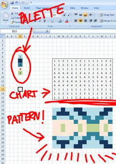 This week I thought I'd write up a little bit of Excel charting trickery I haven't seen anywhere else on the internet: A simple macro that lets you 'paint by numbers'. Excel is pretty handy for mak...