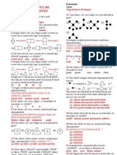 Teste rationament logic Ontario, Bullet Journal