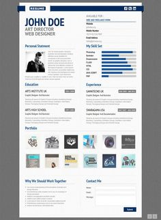 Ponshy – / Resume TemplateLook beyond premium paper and smart bullets to make your resume stand out; HTML and CSS are the new enablers to make your… Resume Cv, Resume Design, Web Design, Resume Template Free, Templates Free, Curiculum Vitae, Number Web, Free Samples, Curriculum