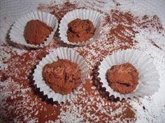 Zobrazit detail - Recept - Čokoládové lanýže Thing 1, Muffin, Breakfast, Detail, Food, Morning Coffee, Essen, Muffins, Meals