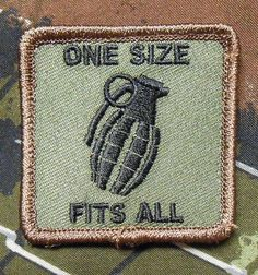 One Size Fits All Tactical US Army Morale Infidel Milspec Forest Velcro Patch | eBay