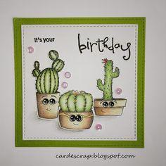Card e Scrap: Cactus Card