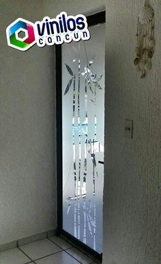 Vinil Decorativo Cristales, Puertas y Ventanas