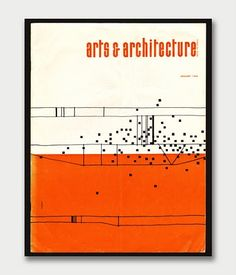 Minimal graphic for architecture journal