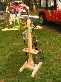 Bow Stand DIY Archery