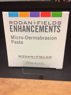 rodan and fields enhancements micro-dermabrasion paste  | eBay