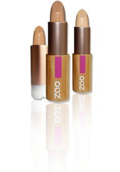 Correcteur stick : Rechargeable, 100% naturel, certifié BIO et cruelty free - Zao.