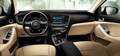 ¿Y si al salir de casa fuera este Kia Optima el que te está esperando para emprender la jornada?  #KiaOptima #Kia #coches Kia Optima, Kia Motors, All Cars, Vehicles, Korean, Interiors, Google Search, Diamond, Nice