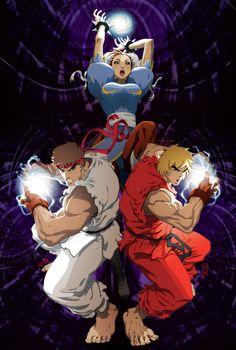 Ryu, Chun Li & Ken / jeffrey cruz