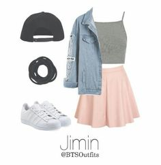 May 2019 - Skirt Outfits Black Denim Jackets Ideas Cute Casual Outfits, Edgy Outfits, Mode Outfits, Skirt Outfits, Teenage Outfits, Outfits For Teens, Summer Outfits, Summer Shorts, Mode Kpop