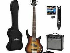 Gear4Music Chicago Electric Bass Guitar   Amp Pack Sunburst The Chicago Electric Bass Guitar  Amp Pack by Gear4music features our Chicago Electric Bass Guitar in Sunburst our 15W Bass Amplifier by Gear4music and a bundle of accessories that provide the aspiri http://www.comparestoreprices.co.uk/bass-guitars/gear4music-chicago-electric-bass-guitar- -amp-pack-sunburst.asp