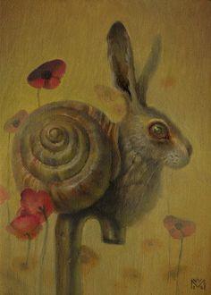 artilo: Martin Wittfooth Martin Wittfooth, Rabbit Art, Cute Monsters, Shell Art, Pop Surrealism, Canadian Artists, Surreal Art, Art Gallery, Illustration Art