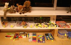 start van de speelgoedwinkel
