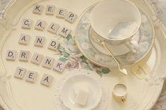 Tea makes you happy...