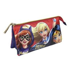 --- SCHOOL CASE DC SUPER HERO GIRLS 579   --- #school #case #dc #super #hero #girls #579   ---DESCRIPTION: Children deserve the best, that's why we present to you School Case DC Super Hero Girls 579, ideal for those who seek quality products for their little ones! Get DC Super Hero Girls and other brands and licences at the best prices!Approx. dimensions: 22 x 11,5 cmMaterial: Polyester   ---LINK…