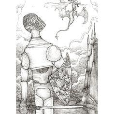 Saint-Georges #illustration
