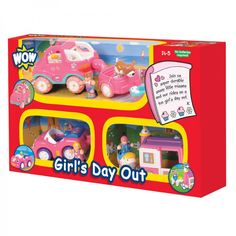 WOW Toys Girls Day Out is a lovely gift for girls age 3