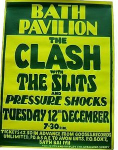 THE CLASH and THE SLITS